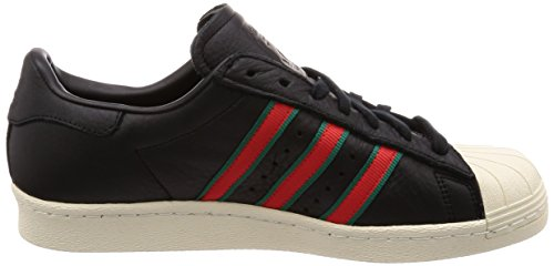 Sportive 80s Uomo negbas verde Scarpe Adidas Superstar 000 Nero rojsld CqnO4