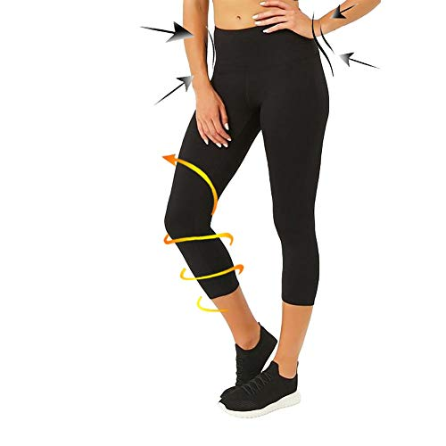 CAMPSNAIL Plus Size High Waisted Leggings for Women Yoga Pants Seamless Capri Leggings Compression Workout Leggings ()
