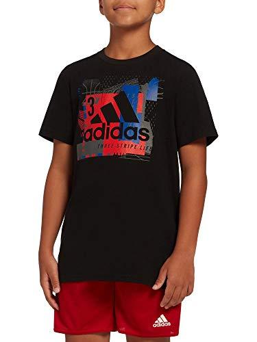 adidas Boys' Collage Mantra Graphic T-Shirt