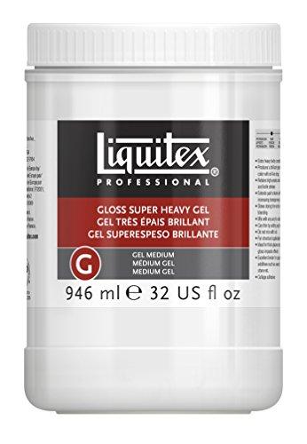 Liquitex Professional Gloss Super Heavy Gel Medium, 32-oz (7432)