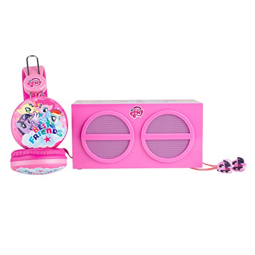 My Little Pony SH1-01057 3-In-1 Stereo Pack Earphones
