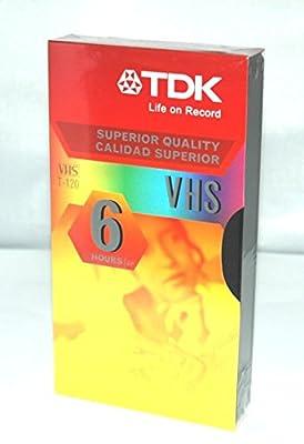 TDK T-120 VHS Cassette - 6 Hour by TDK