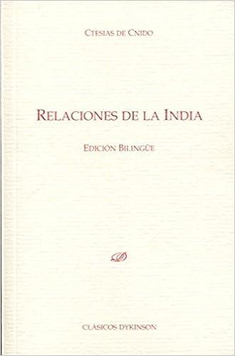 Relaciones de la India: Amazon.es: de Cnido, Ctesias, Álvarez ...