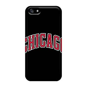 MansourMurray Iphone 5/5s Durable Hard Phone Cases Allow Personal Design Nice Chicago Bulls Skin [Smk16263GNWV]