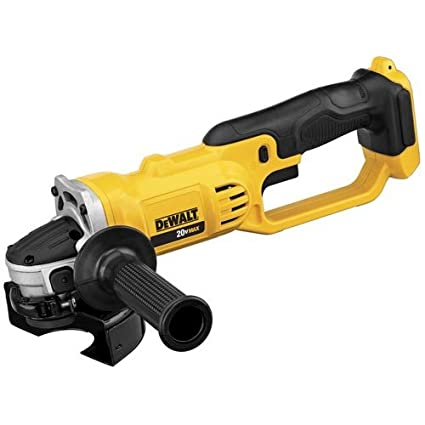 "Dewalt DCG412B 20V MAX* Lithium Ion 4-1/2"" grinder (Tool Only) on"