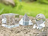 4 Pack Crystal Photography Prism Set, Include 50mm