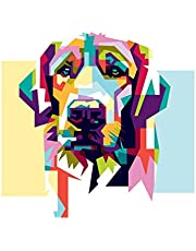 Notebook: Multicolored Dog, Composition Notebook For Girls, Large Size - Letter, Wide Ruled