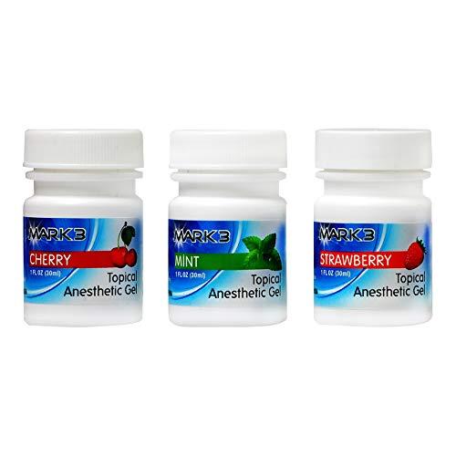 (Dental Opahl 20% Benzocaine 1 Oz Topical Anesthetic Gel (3))