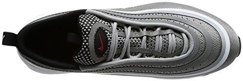 NIKE Mens Air Max 97 UL 17 Casual Shoe Metallic Silver/Varsity Red v3vTu