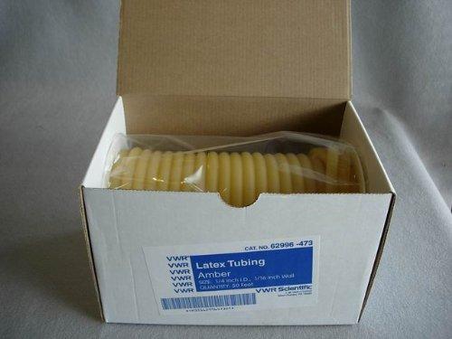 Natural Rubber Latex Tubing 50 ft. - 1/4'' x 3/8'' x 1/16 wall (50 feet)
