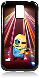 Dancing in the Red Spotlight- Hard Black Plastic Snap - On Case with Soft Black Rubber LiningGalaxy s5 i9600 - Great Quality!