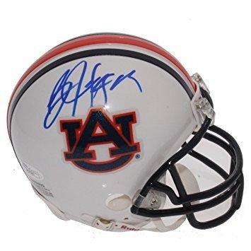 Auburn Tigers Signature Helmet (Bo Jackson Autographed Auburn Tigers Riddell Mini Helmet - JSA Certified Signed Autograph)