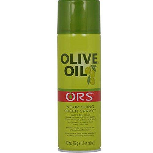 Olive Oil Ors Nourishing Sheen Spray, 11.7 oz (Pack of 2) - Healing Oil Sheen Spray