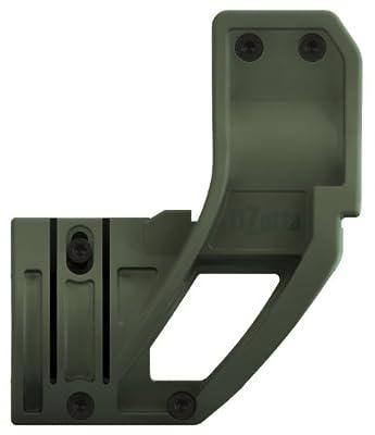 Elzetta ZFH1500G AR15 Tactical Flashlight Holder, Green