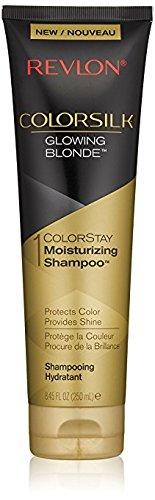 Revlon Colorsilk Colorstay Moisturizing Shampoo, Glowing Blonde, 8.45 fl oz (Pack of 2) (Revlon Shampoo Colorstay)