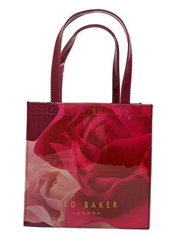 6553335720820 Ted Baker Nealcon Porcelain Rose Small Icon Tote Bag Maroon  Amazon ...