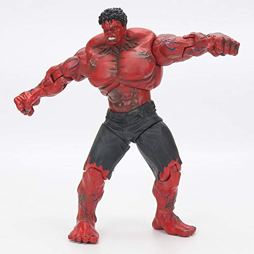 ALANAST Marvel Avengers Titan Hero Series Hulk Action Figure 12 inch Marvel Legends Hot Toys Avengers Infinity War PVC RED Hulk -