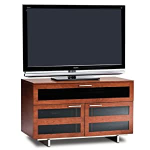 BDI Avion 8928 Double Wide Entertainment Cabinet, Natural Stained Cherry
