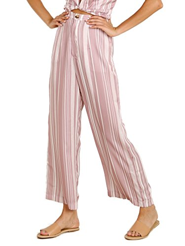 Show Me Your Mumu Kensington Pants Slipper Stripe Sheen