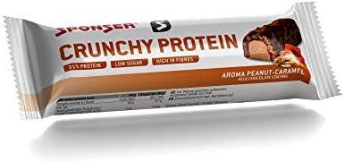 Sponser Crunchy Protein Bar 1 x 50g Geschmack Peanut-Caramel Milk Chocolate