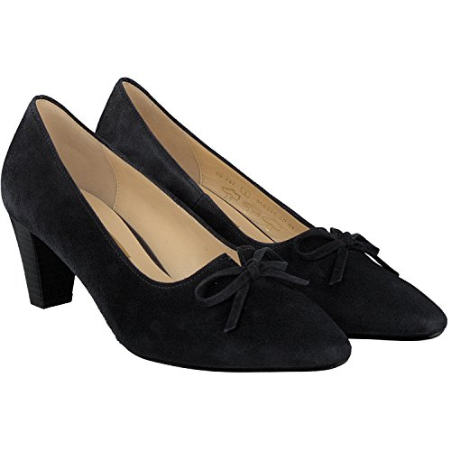PEARL GABOR COURT SHOE 65.147 3 NAVY SUEDE
