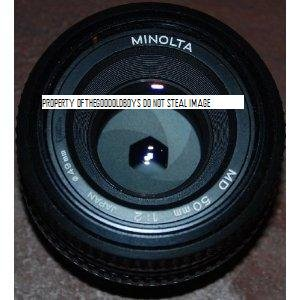 Minolta Md Mount Lens - Minolta MD 50mm 1:2 Made In Japan Minolta Mount Lens