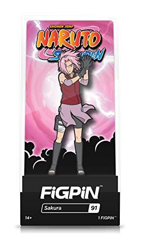 - FiGPiN Naruto Shippuden: Sakura - Collectible Pin with Premium Display Case