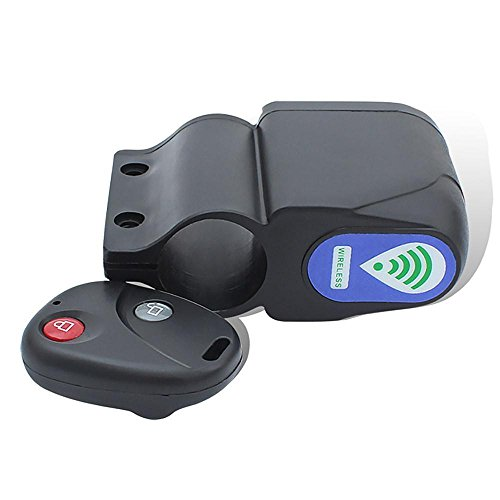 Security Vibration Sensor Difference Input 4 Password 150 dB Theft Alarm Bike Anti Stolen Bicycle Notification Unexpected W/Remote up to 30 meters range BK1-1
