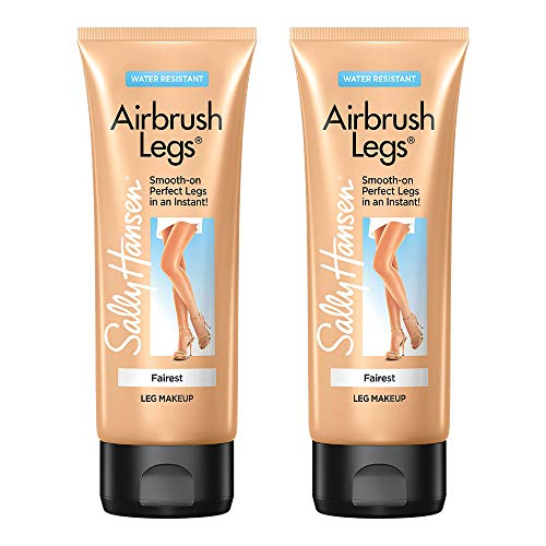 Sally Hansen Airbrush Legs, Leg Makeup Lotion, Fairest, 4 Ounce (Pack of 2)