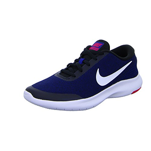 Sneakers 7 Deep Black Rn 001 Royal NIKE Multicolour Wflex Rush Low Top White Experience Women's Pink Blue wqH0I