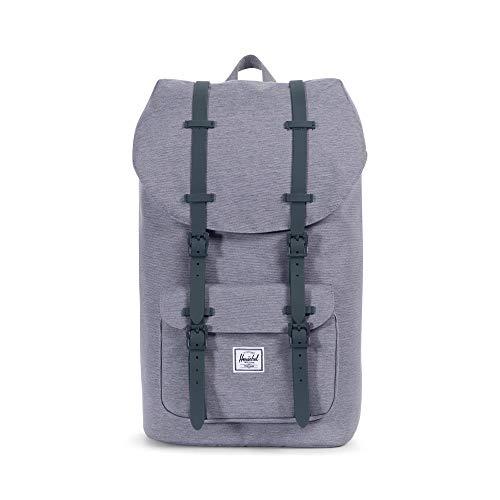 Herschel Little America Backpack, Mid Grey Crosshatch, One Size