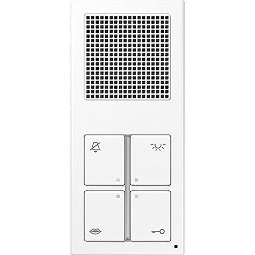 Jung–indooreinheit Audio Standard weiß alpin SI4AWW