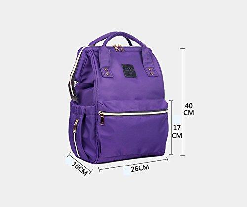 Bolso de la momia, morral multi-funcional de gran capacidad del hombro, hacia fuera bolso, bolso, bolso de la madre de la manera, bolso del bebé de la madre ( Color : #8 ) #2
