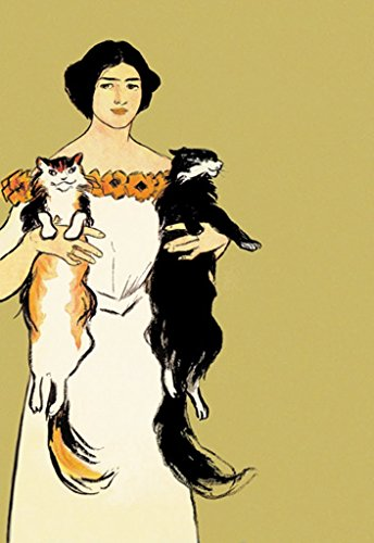 Buyenlarge Springtime Felines Harper's May 1897 by Edward Penfield Wall Decal, 24