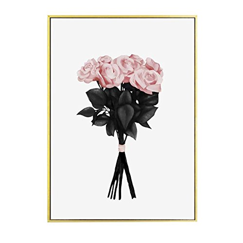 angel3292 Nordic Flower Bouquet Canvas Poster Painting Living Room Bedroom Wall Picture