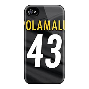Excellent Iphone 4/4s Case Tpu Cover Back Skin Protector Pittsburgh Steelers