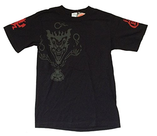 Insane Clown Posse Jeckel Brothers Hatchet Man Black T Shirt - Posse Face Clown Insane