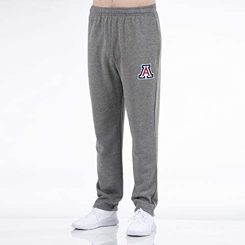 Top of the World Mens Foundation Open Bottom Gray Heather Sweatpants