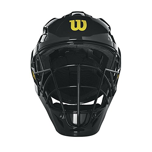 Wilson Pro Stock Umpire Helmet, Black, 7