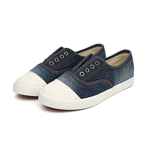 La Sra zapatos casuales un pedal/zapatos de lona/zapatos planos para ayudar baja B