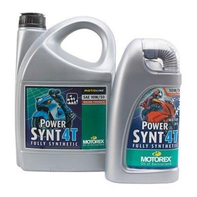 Motorex Power SYNT 4T Oil 10W50 1 Liter (ea) for Motorcycles (ZZ 3601-0006) - Motorex Power Synt 4t Oil