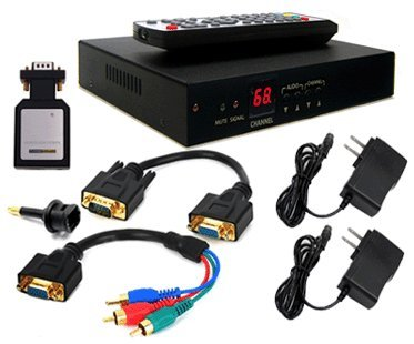 Analog UHF VHF Cable TV Tuner With YPbPr HDMI VGA Output by AllAboutAdapters (Image #6)