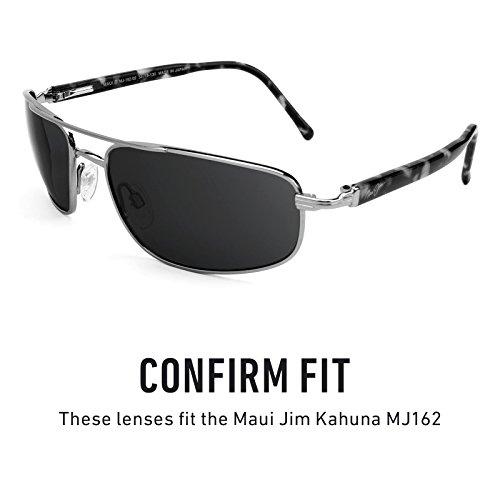 Opciones múltiples MJ162 Maui Polarizados para — Dorado Kahuna Bolt Lentes Jim Mirrorshield de repuesto FzqYqw8g