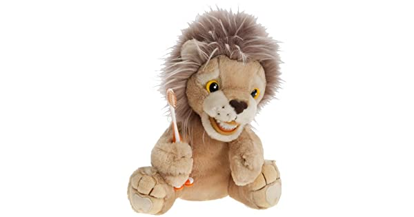 Amazon.com: Kids Lion educativo felpa & cepillo para polvo ...