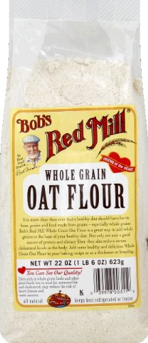 Bob's Red Mill Flour Oat 22.0 OZ (Pack of 12)