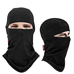 * Why our balaclavas are strongly recommended to you?  -- With high quality, soft and comfortable fabrics, never scratch your skin.  -- Machine washable.  -- Lightweight but thick enough to keep you warm.  --You can easily put it on and cast ...