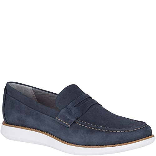Blue Sperry Pennies (Sperry Men's Kennedy Penny Loafer, Navy, 10.5 M US)