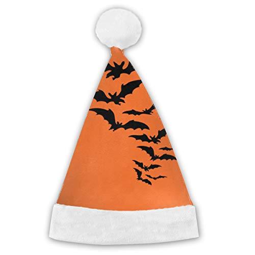 Halloween Bat Horror Film Orange Ghost Xmas Cap Hat Santa Claus Party for Vacation Pack Top Beanie Set Novelty Fancy Creative