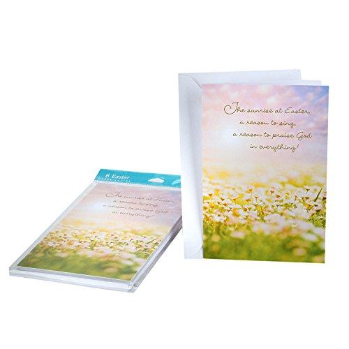 DaySpring Easter Greeting Cards (Joyful Easter Blessings, 6 Cards and 6 Envelopes)