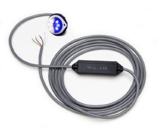- Whelen Vertex Super-LED Light - Blue/White Split VTX609E
